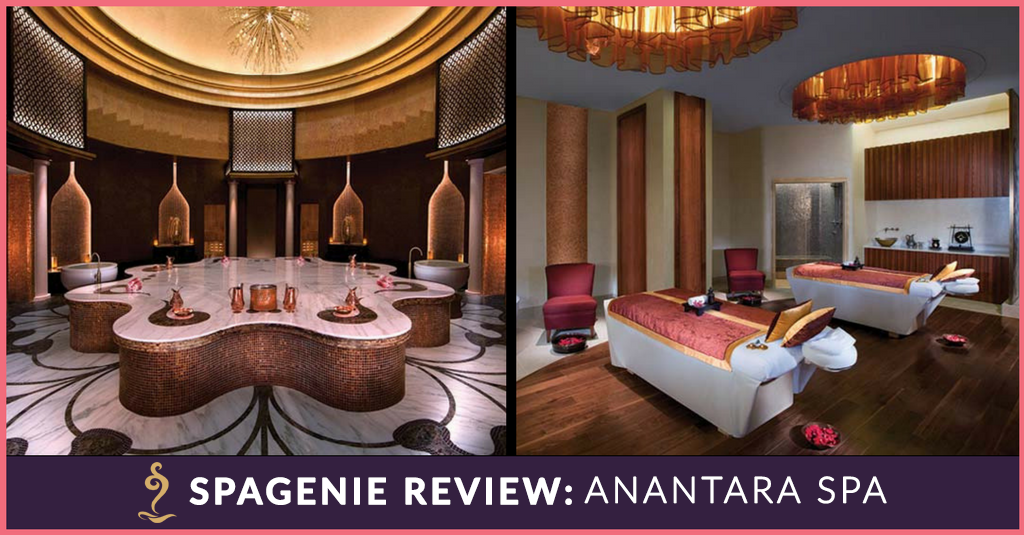 SpaGenie Review Scents of Arabia Ritual Anantara Spa, Eastern Mangroves
